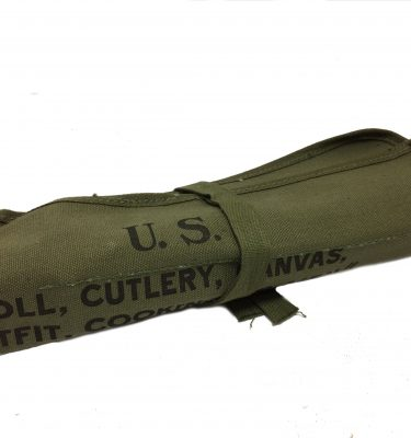military surplus canvas cutlery roll