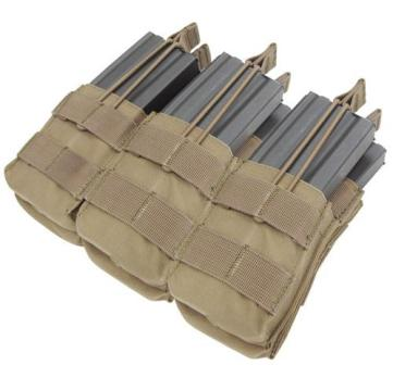 Triple Stacker M4/M16 Open Top Mag Pouch