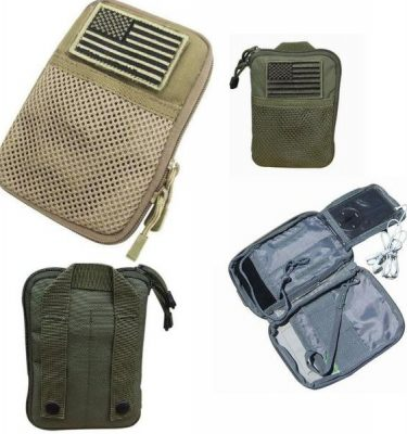 Molle Pocket Pouch w/Flag Ma16