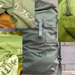 U.S. Military Duffle, Used Good Condition