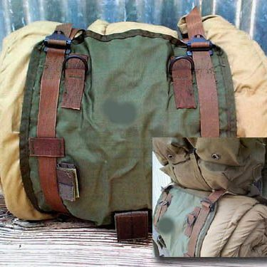 Vietnam Issue Alice Sleeping Bag Carrier, Used