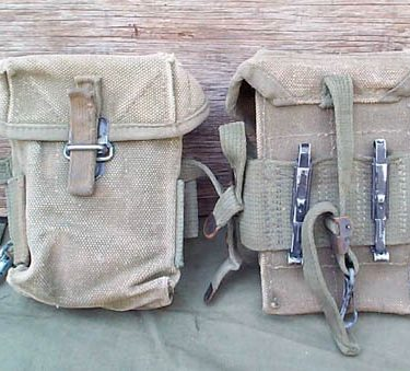 V.n. M-16 Ammo Pouch, M-16, Canvas Used Fair