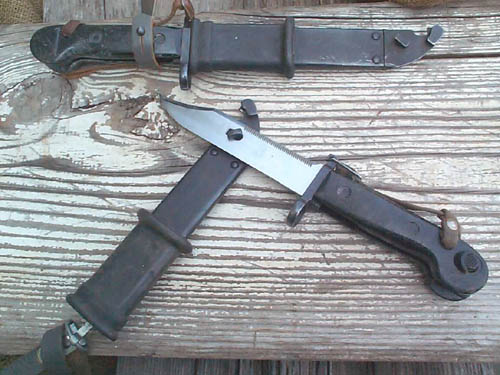 East German Bayonet, Ak-47