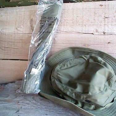 Olive Drab Jungle Boonie, Vietnam Issue Rip Stop