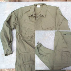 Vietnam Jungle Fatigues Rip Stop Shirt