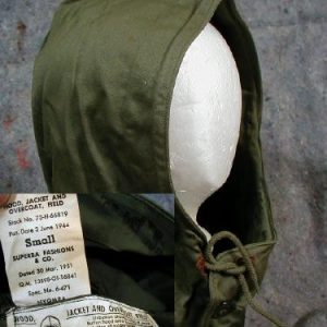 WW2  M-43 Field Jacket Hood