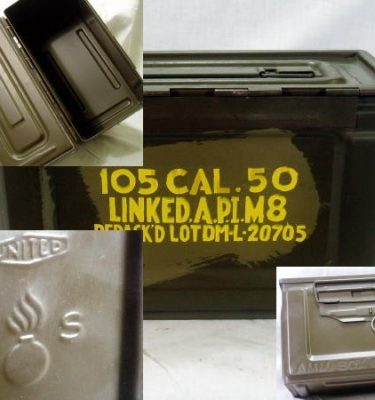 Side Open 50 Cal Ammo Box