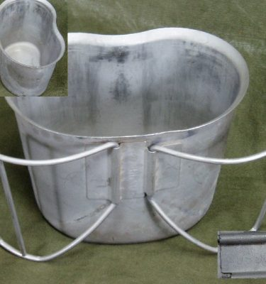 Canteen Cup With Wire Handle, Used