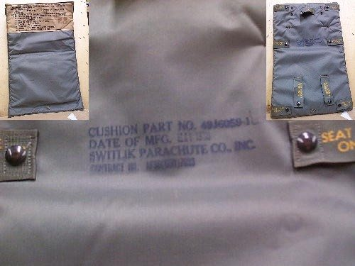 Backpads, Parachute, Used, 5 Pack