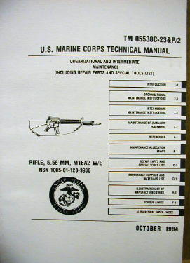 Usmc Technical Manual, M-16