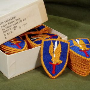 1st Aviation Brigade Shoulder Patch, Color