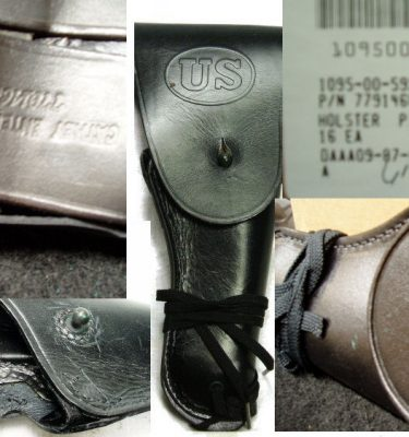 .45 Caliber Holster Issue