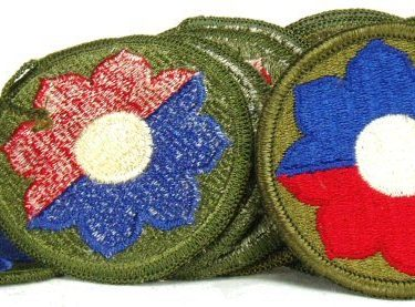 9th Infantry Patch, Color