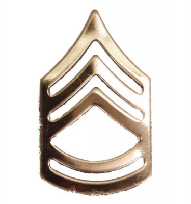 Army Pin-on Collar Rank, E-7, Sgt 1st Class