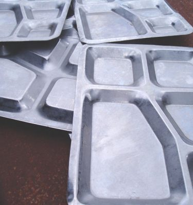 Mess Hall Tray 5 Compartment