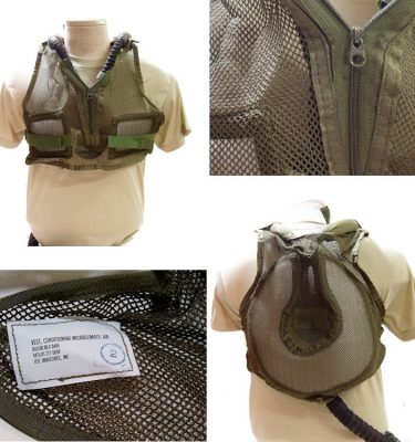 Tankers Cooling Vest Microclimate