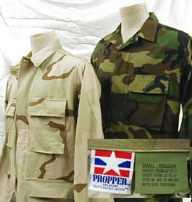 Battle Dress Uniform (bdu) Shirt ripstop