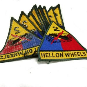 2nd Armored Patch