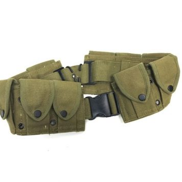 military surplus 10 pocket cartridge belt copy od
