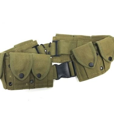 military surplus 10 pocket cartridge belt copy od