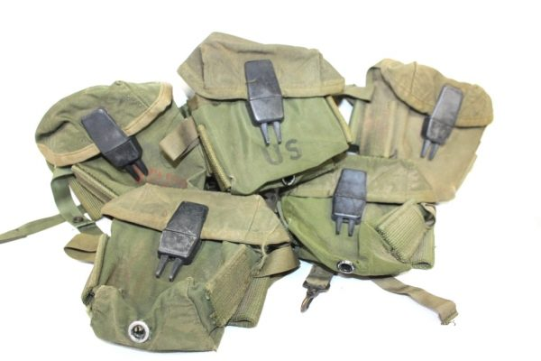 military surplus 20rd m16 mag pouch nylon