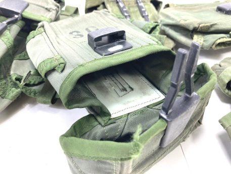 30rd M-16 Mag Pouch Nylon Used- Fair