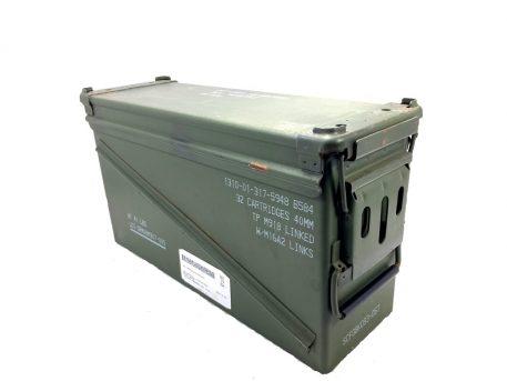 green metal 40mm ammo box