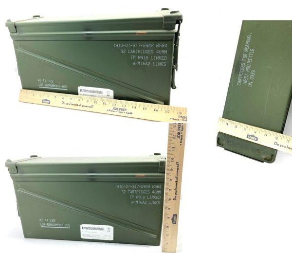 40mm ammo box measurements