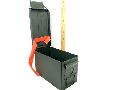 military surplus used 50 cal ammo box