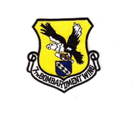 military surplus 7th bomb wing patch