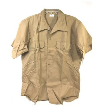 Vietnam Usmc Khaki Shirt Short Sleeve