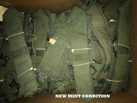 military surplus canvas vietnam suspenders
