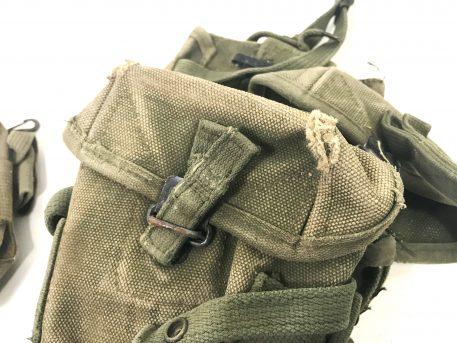military surplus m-16 vietnam canvas pouch