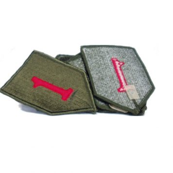 1st infantry patch