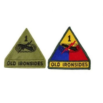 1ST ARMOR PATCH OLD IRONSIDES