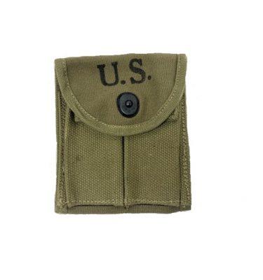 m-1 carbine buttstock pouch for rifle dark khaki