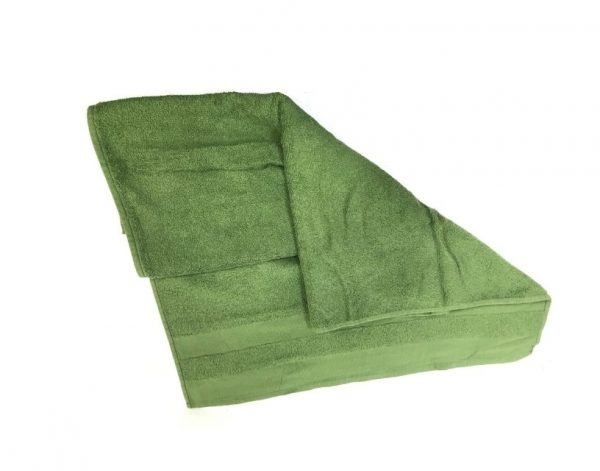 military surplus cotton towel olive drab