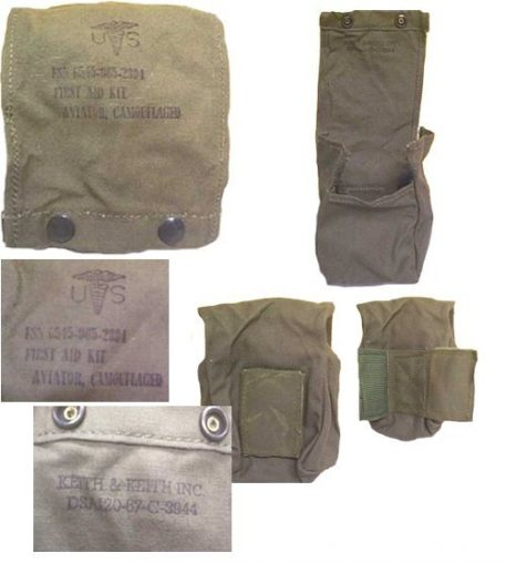military surplus aviation first aid pouch