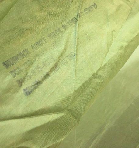 olive drab vietnam jungle hammock original stamp