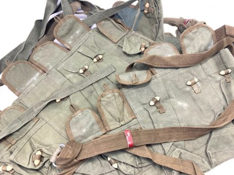 chinese vietnam ak-47 mag chest pouch chest rig