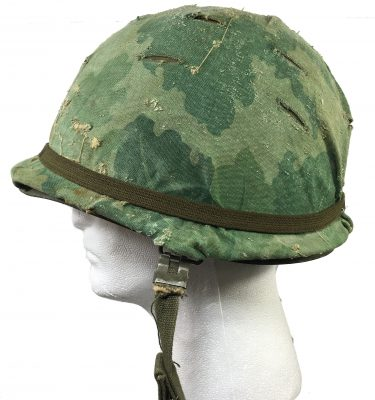 military surplus vietnam era army m-1 helmet