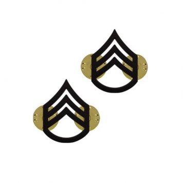 us pin on army rank black staff sergeant