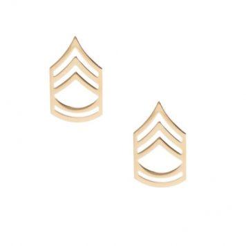 army pin on rank e-7 sergeant 1st class
