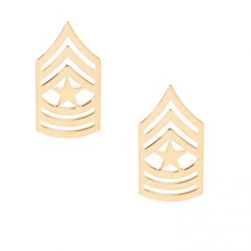 army pin on rank e-9 sergeant major