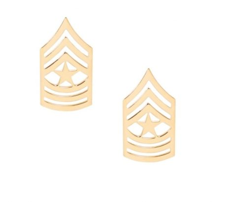 army pin on rank e-9 sergeant major