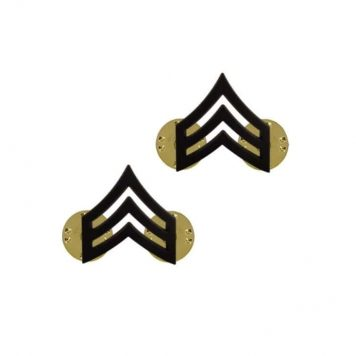 us pin on army rank black sergeant