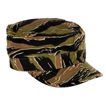 military surplus bdu cap army tigerstripe