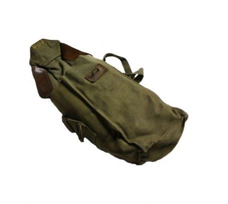 military surplus belgian gas mask bag