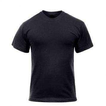 military surplus black t-shirt