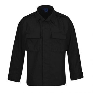 black bdu shirt propper military surplus